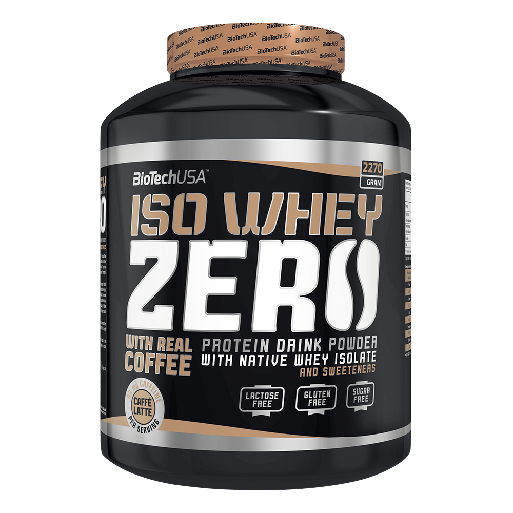 BioTech USA Iso Whey Zero Caffe Latte 2270gr