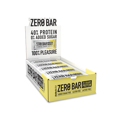 BioTech USA Zero Bar 20 x 50 gr