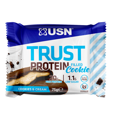 USN Trust Filled Protein Cookie 12 x 75g