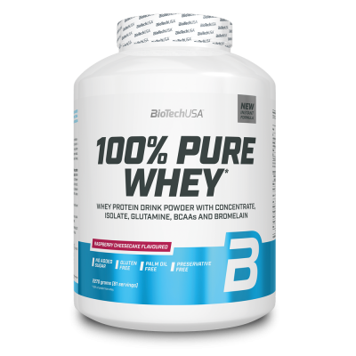 BioTech USA 100% Pure Whey 2270g (Old Packaging)